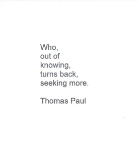 Tom Paul Poem